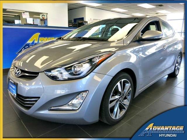Hyundai Elantra Limited w/PZEV 2015