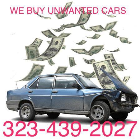 Fast momey junk /unwanted cars