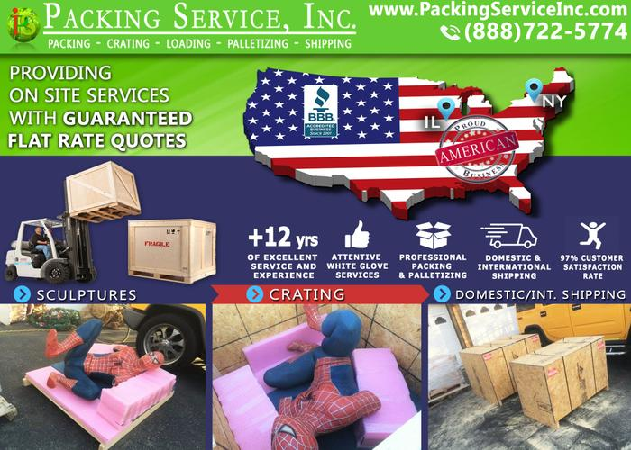 Packing Service, Inc. - Custom Crating, Palletizing and Shipping – Bronx, New York