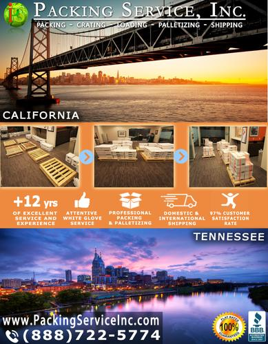 Packing Service, Inc. - Custom Wooden Crates, Pack and Wrap – San Francisco, California