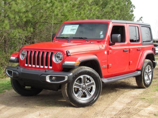 Jeep Wrangler Unlimited Sahara 4x4 2018