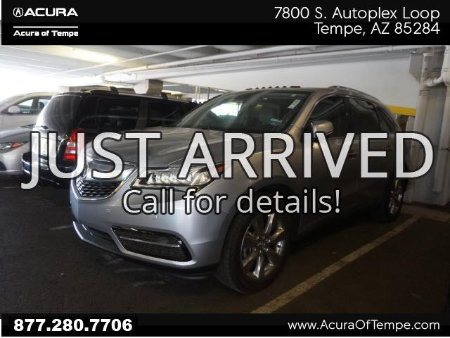 Acura MDX 3.5L SH-AWD w/Advance Package 2016