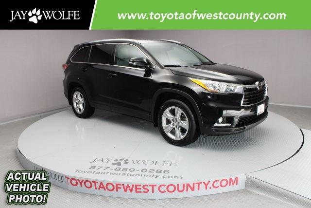 Toyota Highlander Limited Platinum V6 2015