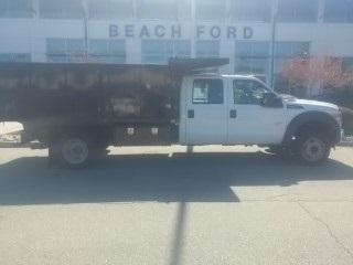 Ford Super Duty F-550 DRW XL Dump Truck 2016