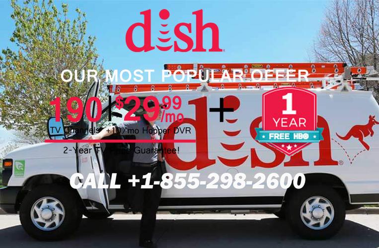 DISH NETWORK 2 YEAR TV PRICE & FREE AMAZON ECHO DOT  1 855 298 2600