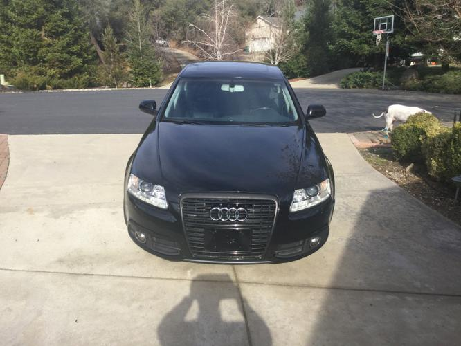 2011 AUDI S-Line Supercharged.  Black on Black