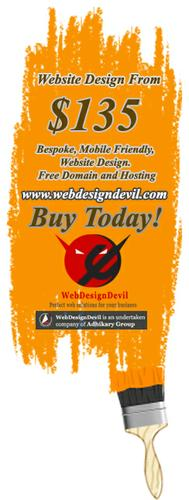 Website Design from Only $135 Free Domain and Hosting, Buy Today!