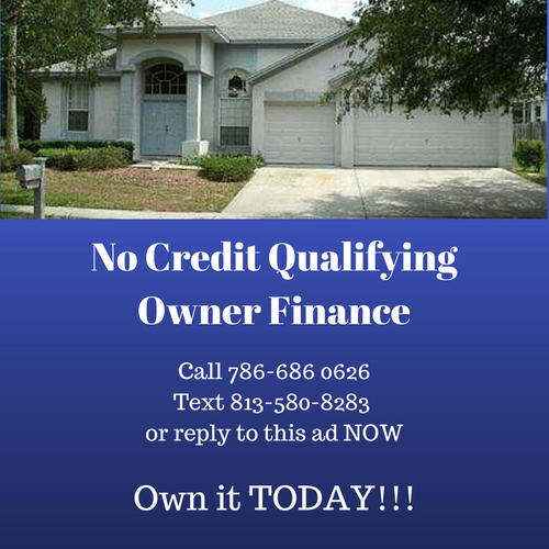 No Credit Qualifying Owner Finance ONLY!
