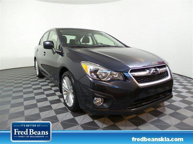Subaru Impreza Sedan Limited 2013