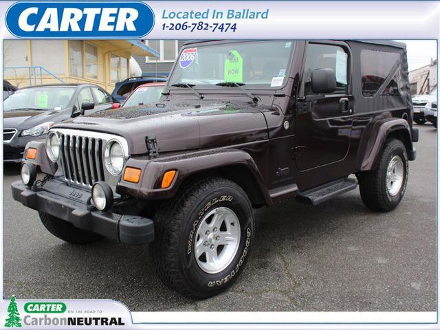 Jeep Wrangler Unlimited LWB 2006
