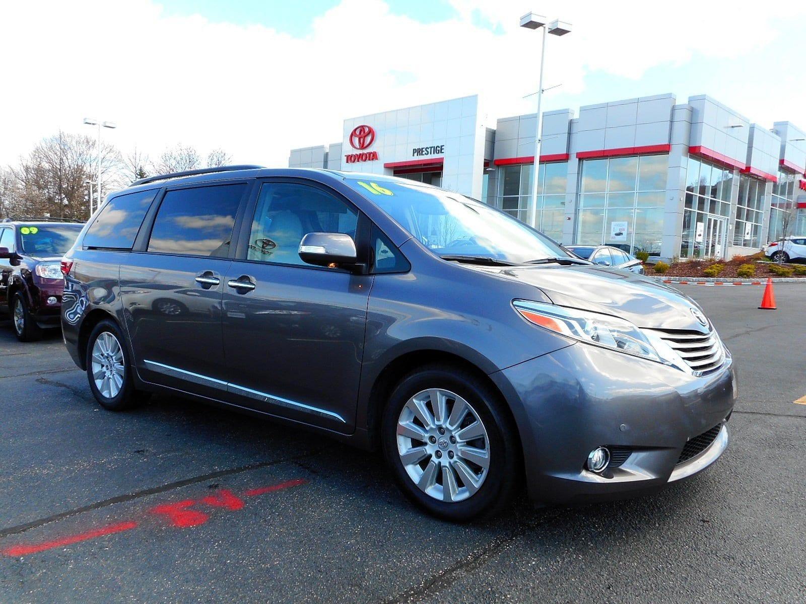Toyota Sienna Limited Premium 2016