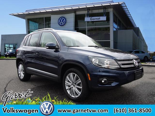 Volkswagen Tiguan SEL 4Motion 2014