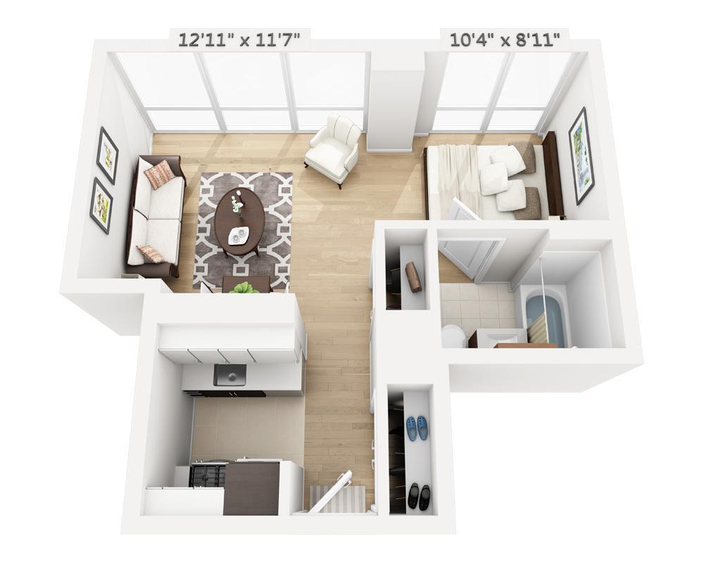 $3320 Studio Apartment for rent