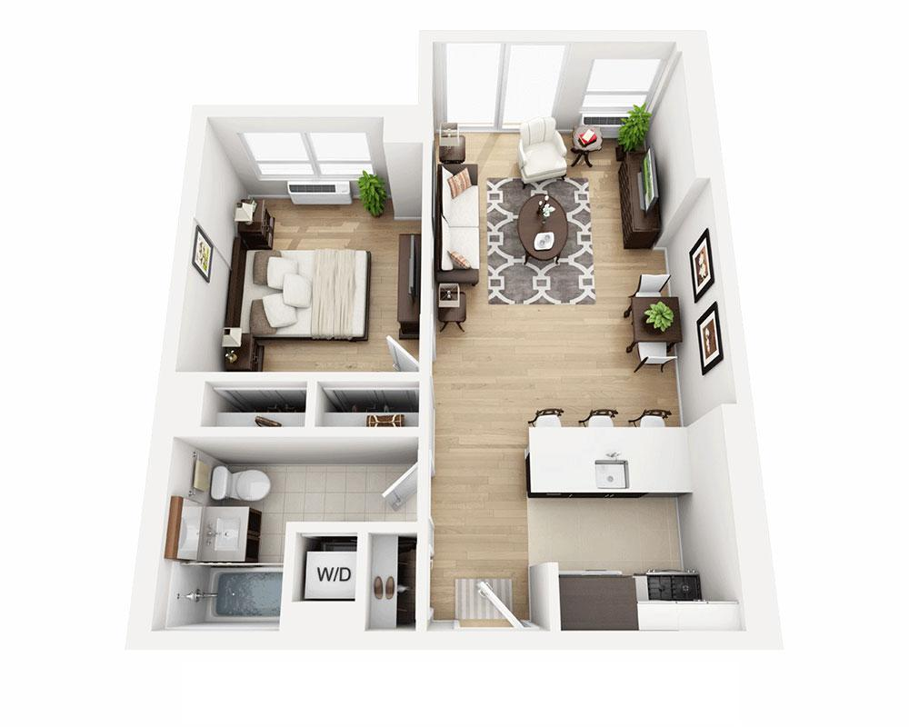 $4195 One bedroom Apartment for rent