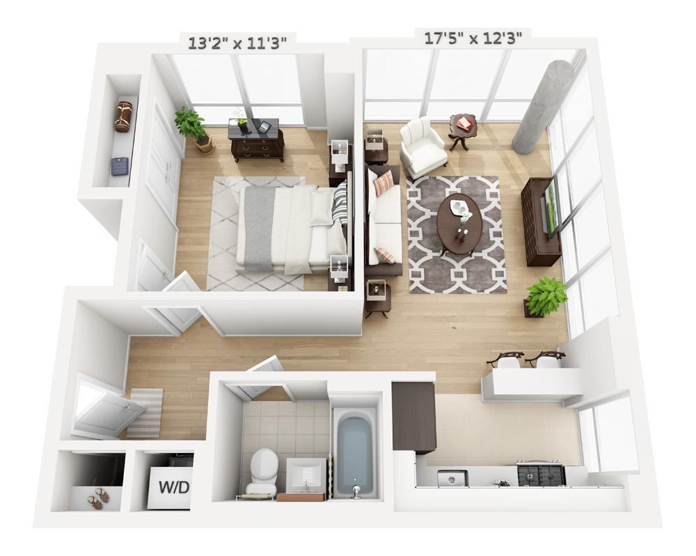 $4015 One bedroom Apartment for rent