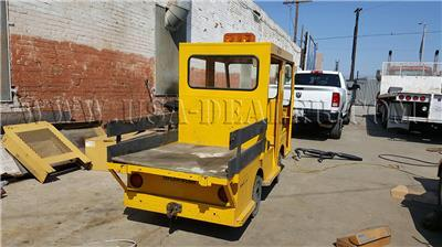 TAYLOR DUNN ELECTRIC POWERED CREW CAB BURDEN CARRIER