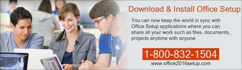 Free Call for Installation Office Setup - 1-800-832-1502