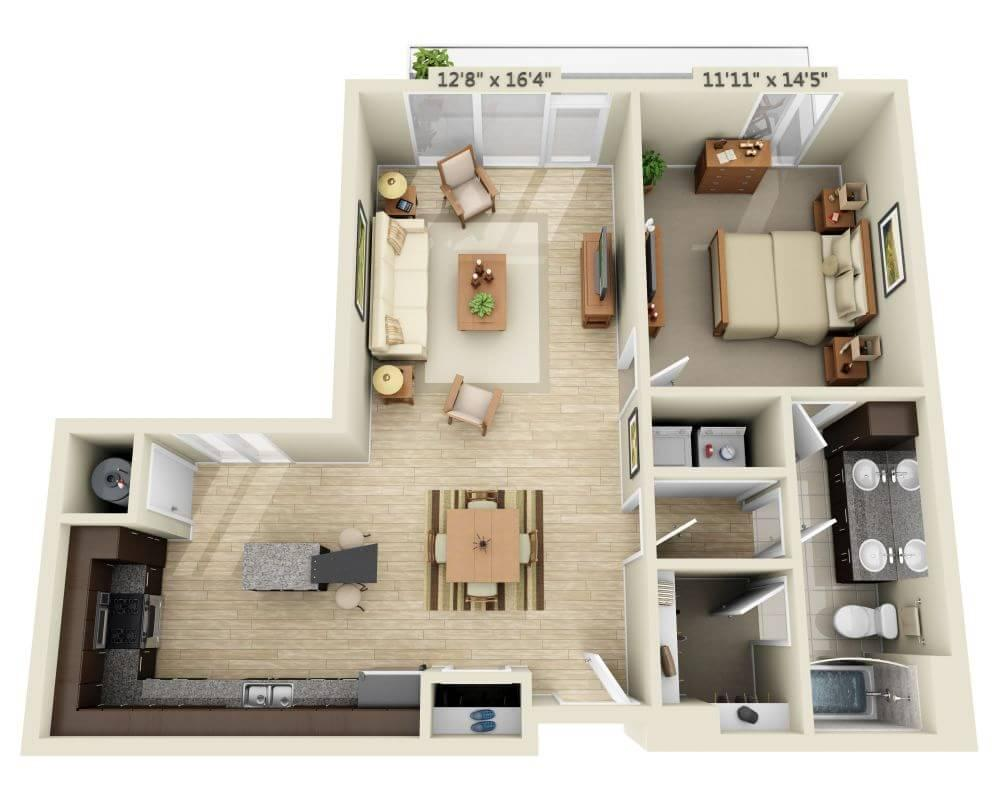 $1751 One bedroom Apartment for rent