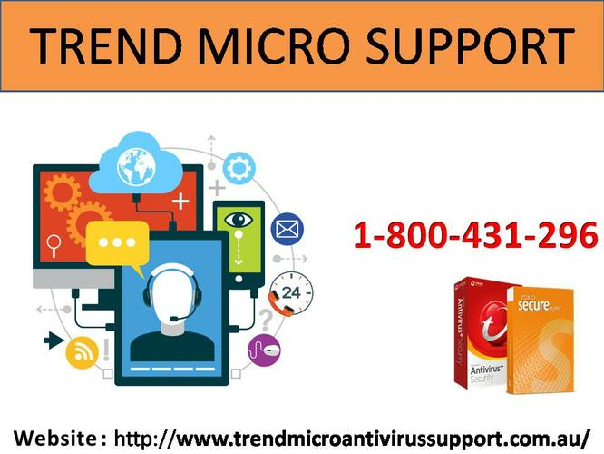 Avail 24*7 Trend Micro Antivirus Support 1-800-431-296.