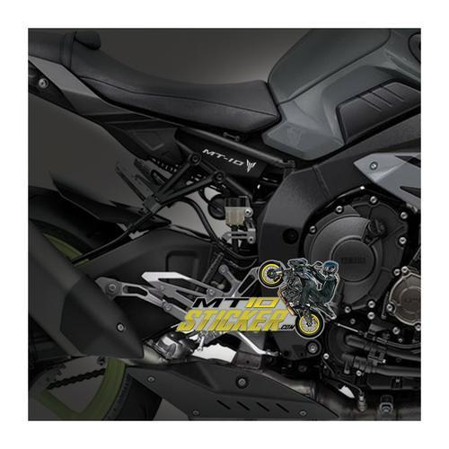 Yamaha MT10 underseat sticker (42)