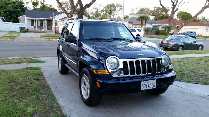 05 Jeep Liberty Limited Edition