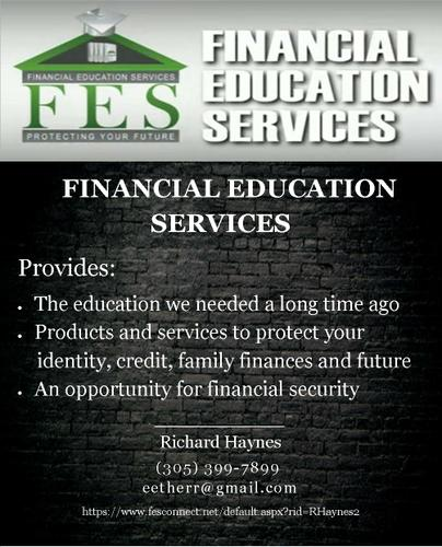 FINANCIAL EDUCATION SERVICES - LIMITLESS OPPORTUNITIES