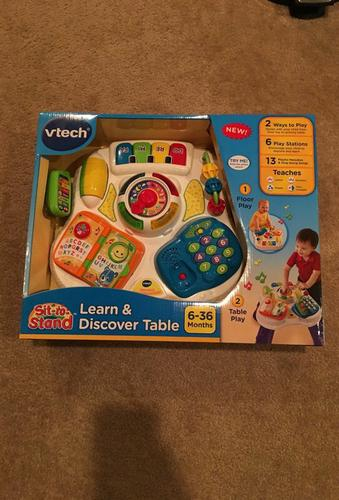VTech Sit-to-Stand Learn Discover Table Activities