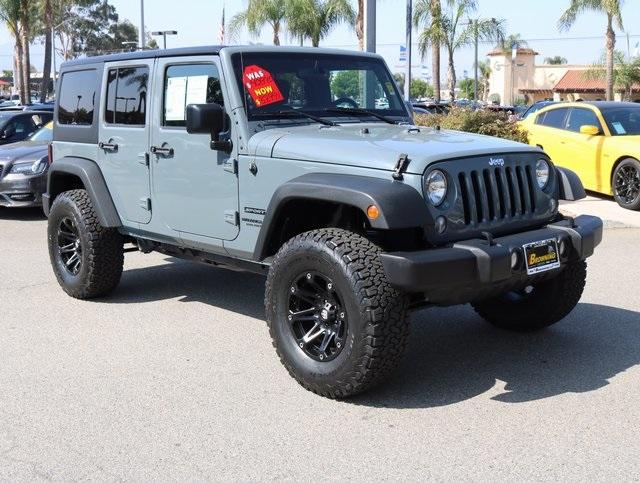 Jeep Wrangler Unlimited Unlimited Sport 2015
