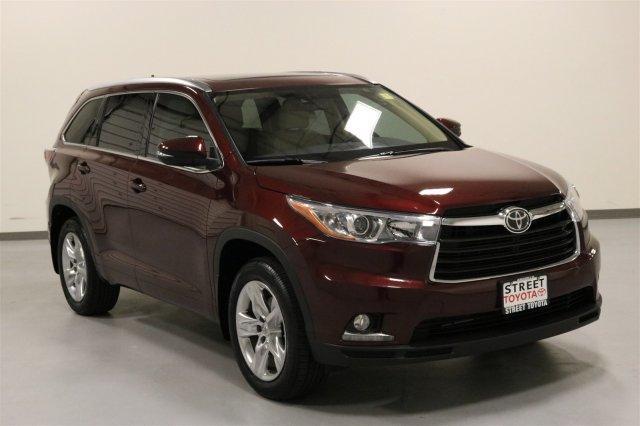 Toyota Highlander Limited Platinum 2015