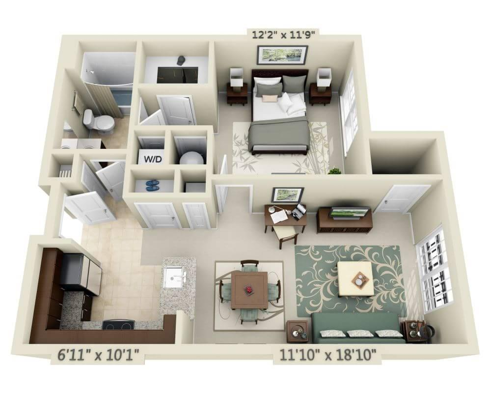 $1705 One bedroom Apartment for rent