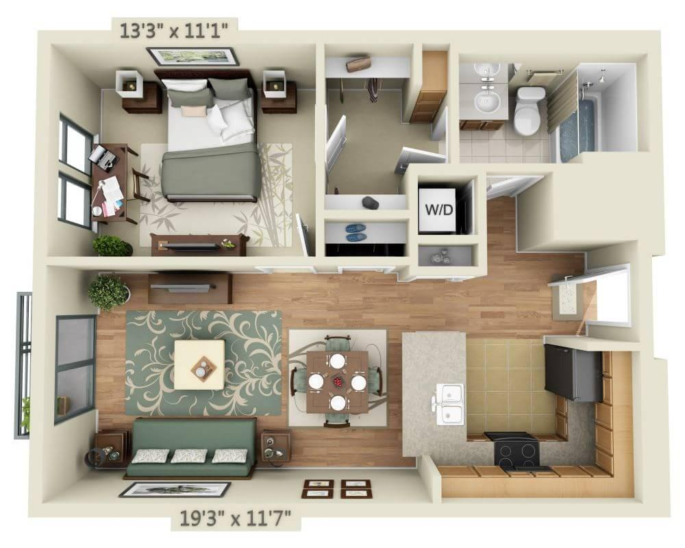 $2187 One bedroom Apartment for rent