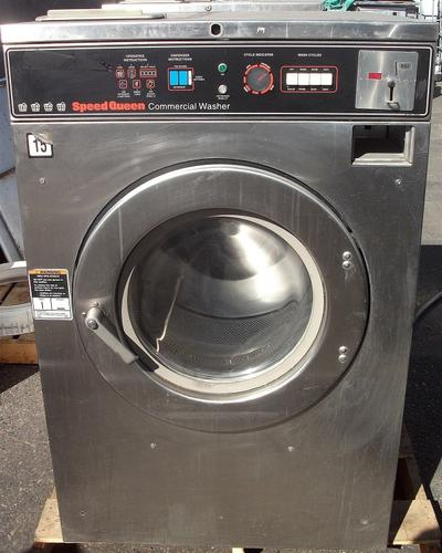 Speed Queen Front Load Washer 40LB SC40MD2 1PH Used