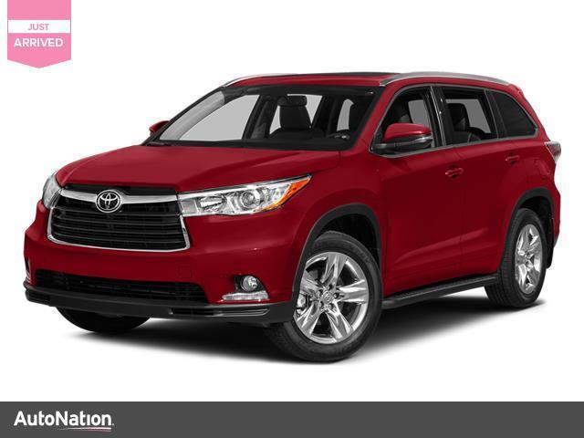 Toyota Highlander Limited 2014