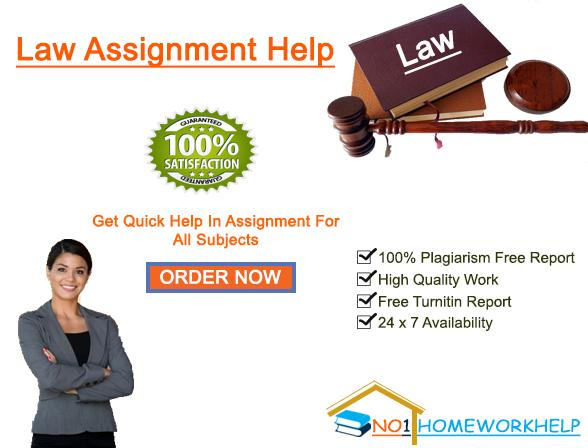 Law Homework Help Online in Your City by No1homeworkhelp.com