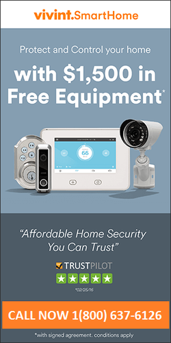 VIVINT HOME SECURITY 1800-637-6126 NEW CUSTOMER SPECIAL OFFER