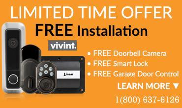VIVINT HOME SECURITY 1800-637-6126 LIMITED TIME OFFER FOR NEW CUSTOMERS