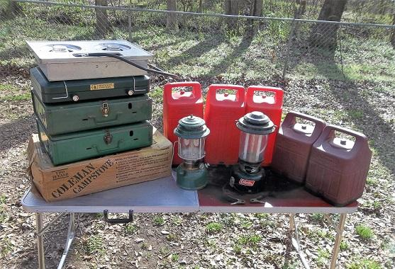 Coleman Laterns for Camping/Fishing