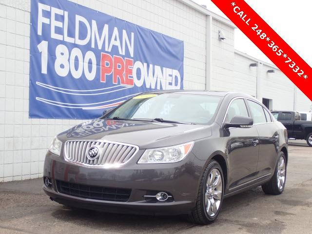 Buick LaCrosse Leather Group 2012