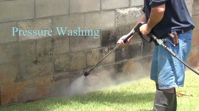 Pressure Washing : Affordable Services For Your Property