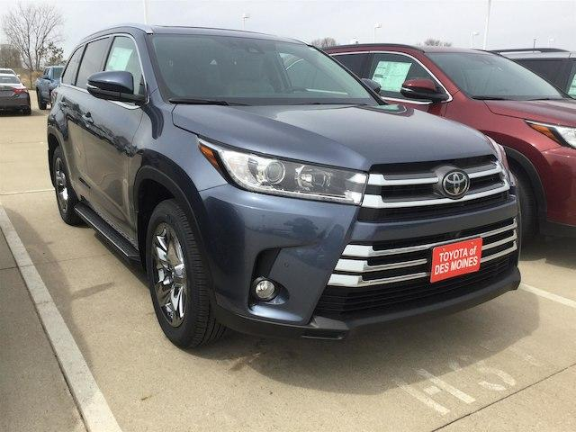 Toyota Highlander Limited Platinum V6 2018