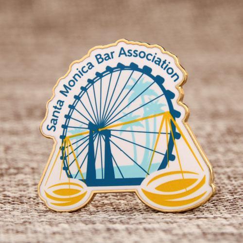 Santa Monica Bar Association Shirt pins