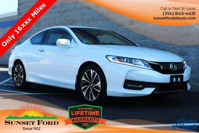 Honda Accord Coupe EX-L 2016