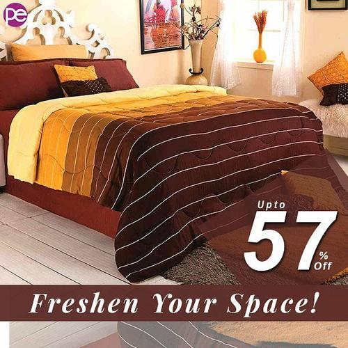 UPTO 57% OFF Indian online mall Cotton Bedsheet - Planeteves.com