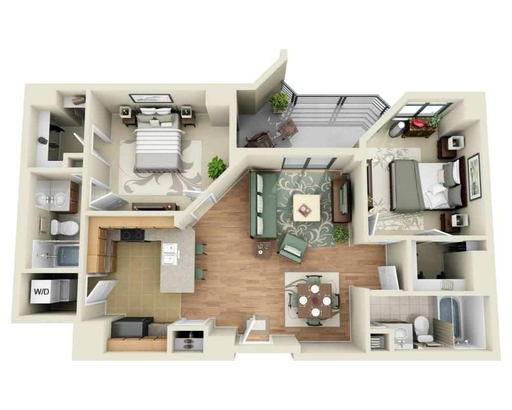 $2639 Two bedroom Apartment for rent