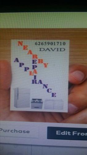 Nearby Appliance Repair - David
