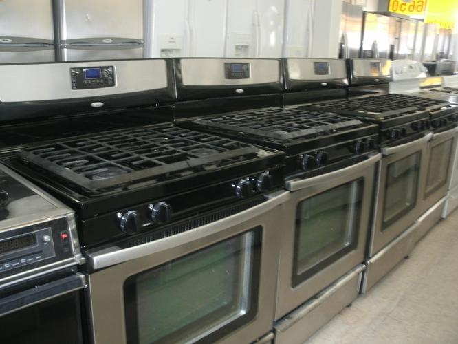 Stainless steel Stoves~Refrigerators and Dishwasher Whirlpool !