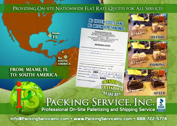 International Shipping in Miami, Florida - Packing Service, Inc