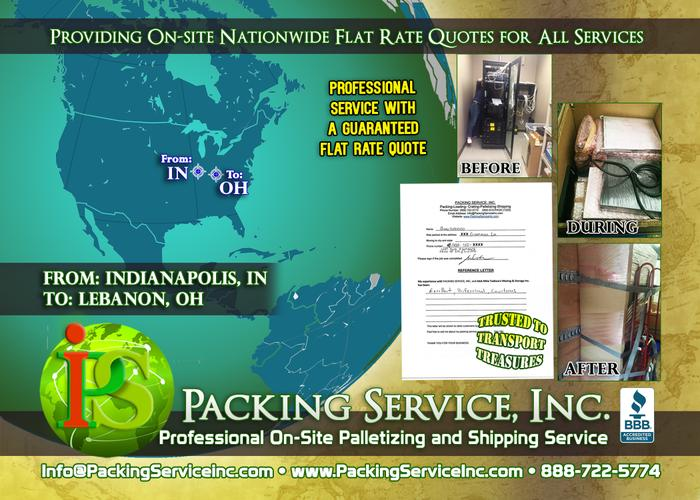 On-Site Packing and Crating in Cleveland, Ohio - Packing Service, Inc