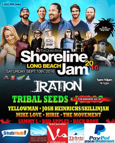 IRATION CONCERT TICKET SALE