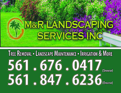 Need lawn and landscaping services ? Please call  M & R Landscaping and Maintenance Inc.